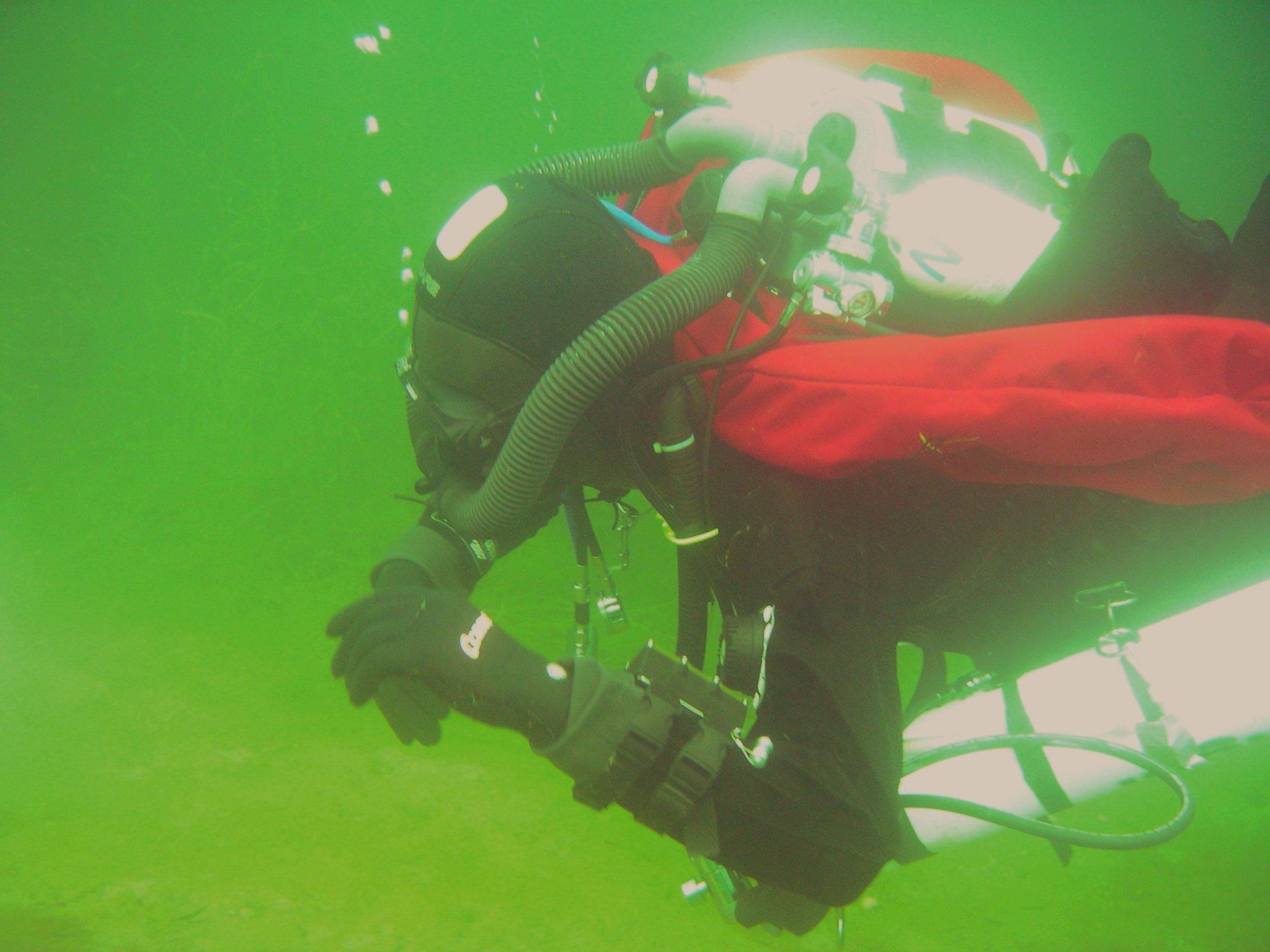 TR300c under water