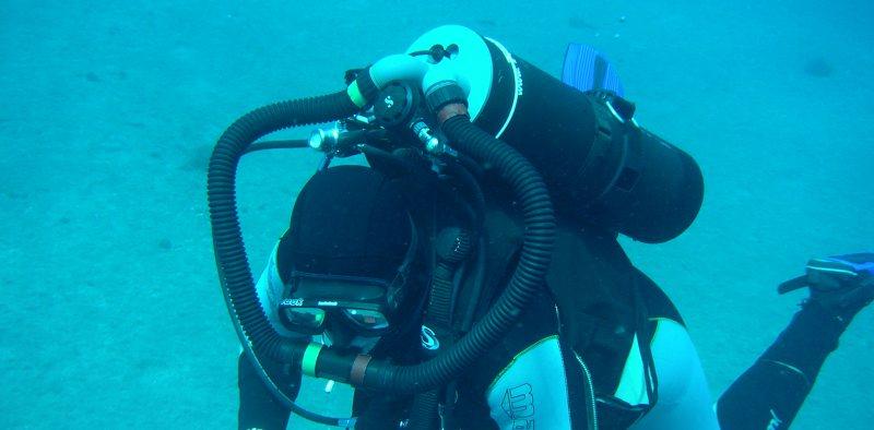 TR300 under water single cylinder